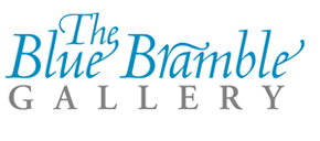 Blue Bramble Gallery St Ives Logo
