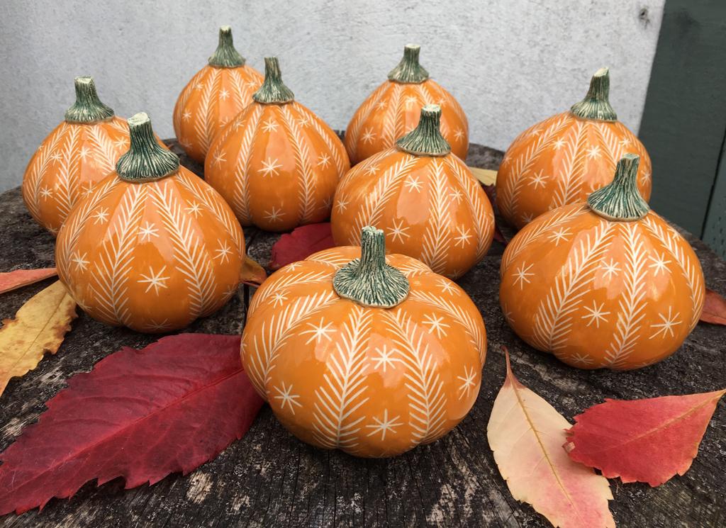 Cath Cooper pumpkins