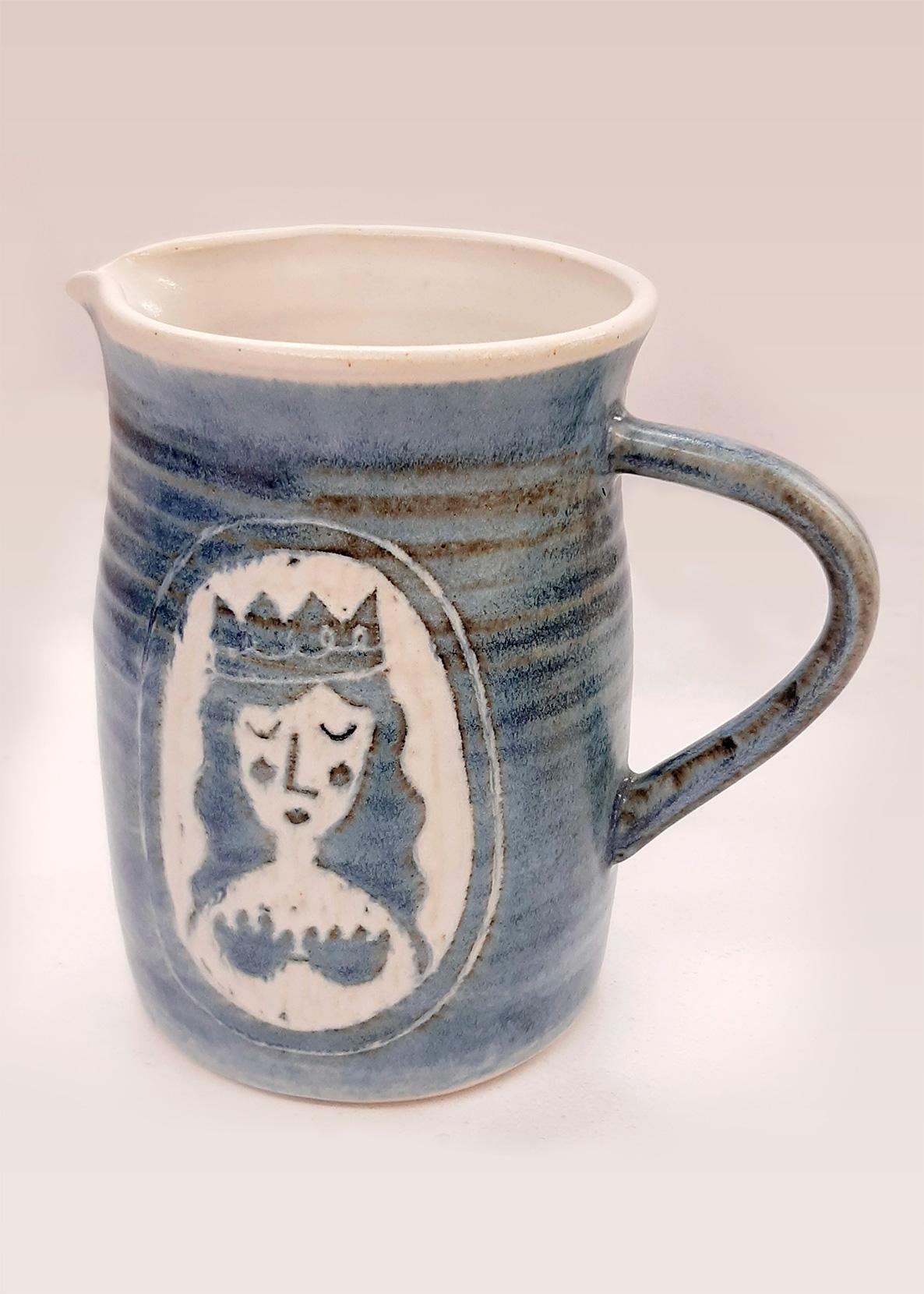 Laura Lane Ceramics - mermaid jug