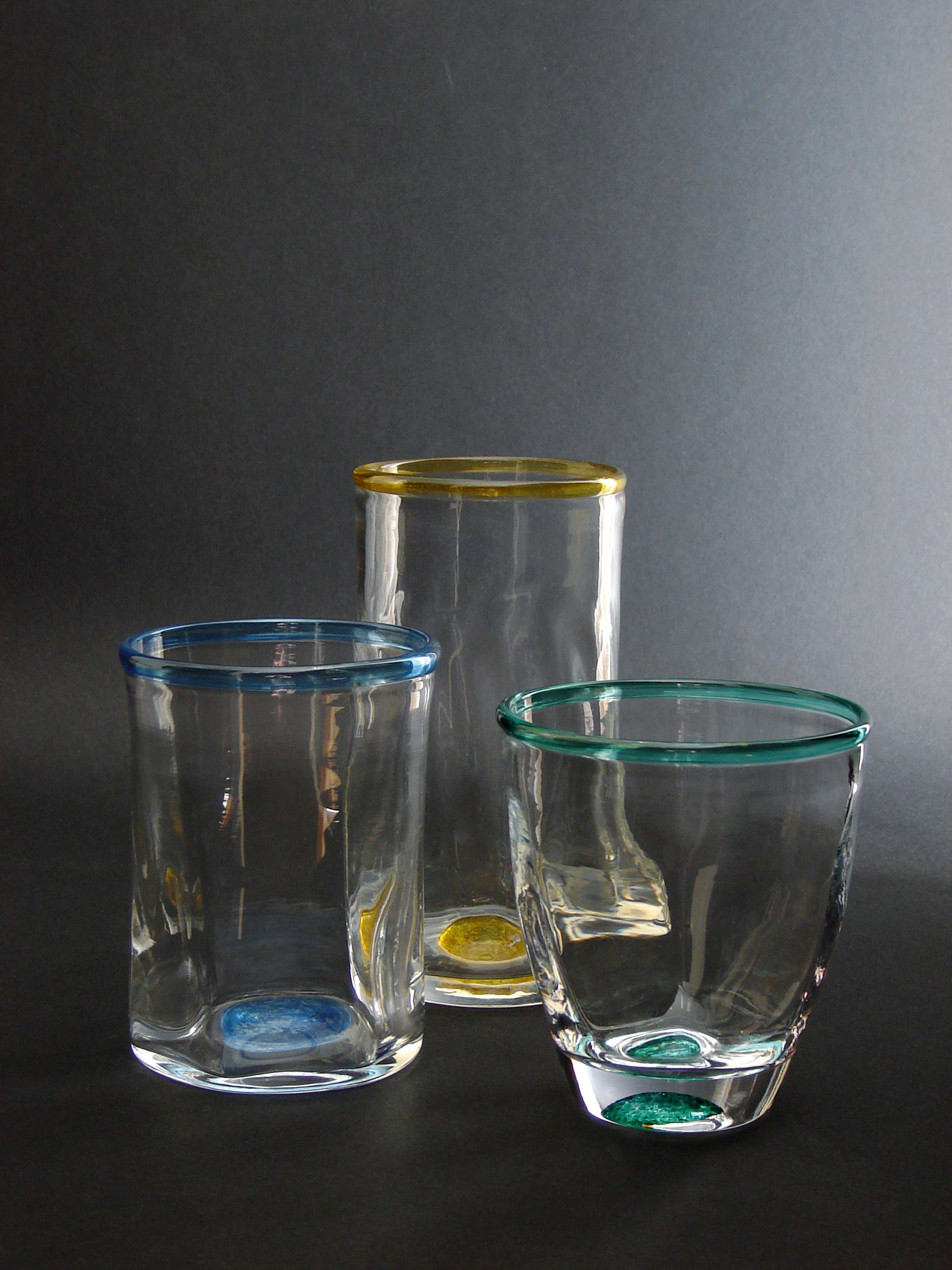 Sark Glass Tim Casey Tumblers
