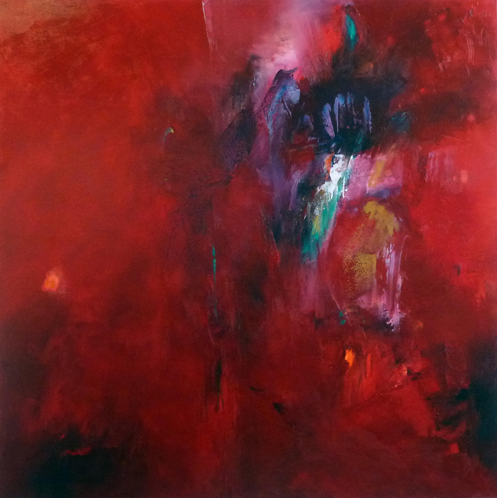 John Paul Cooke painting - Allure