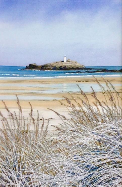 Carol Bynoth Godrevy Lighthouse