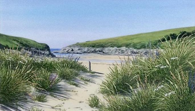 Carol Bynoth Polly Joke Beach