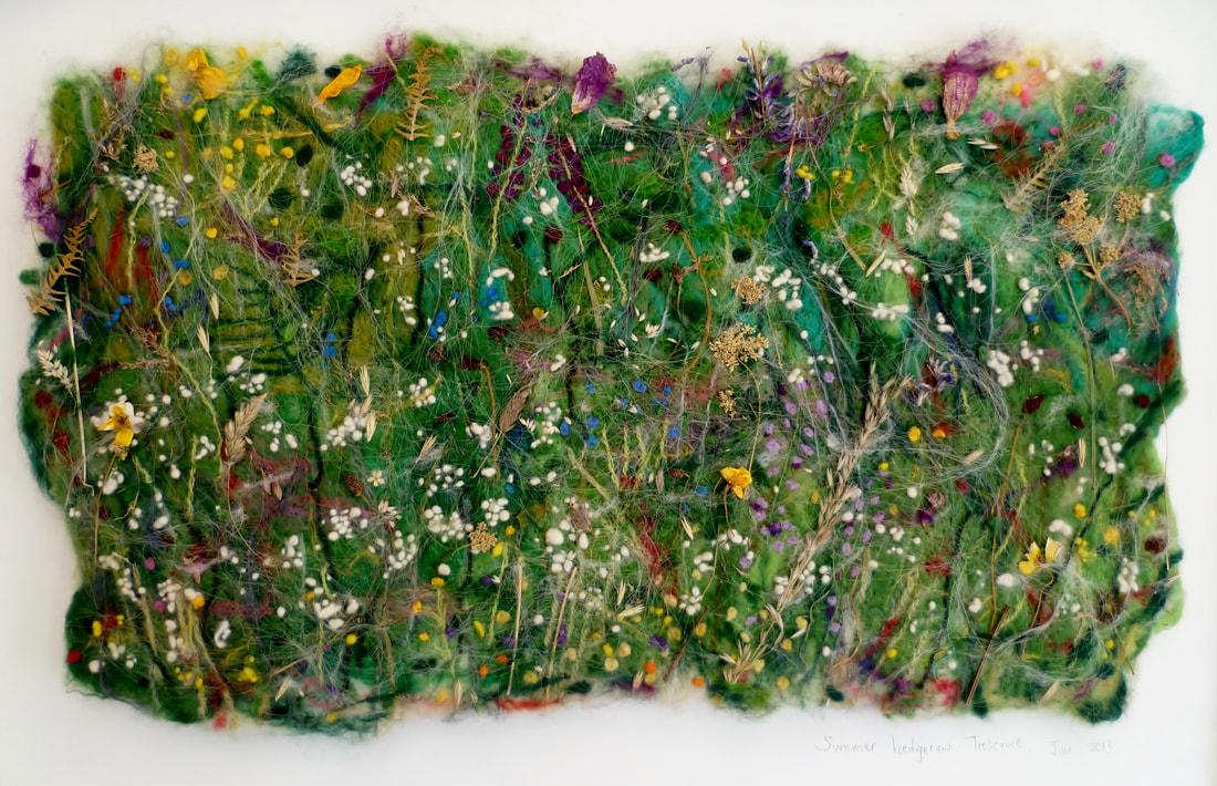 Rowena Scotney summer hedgerow trescowe