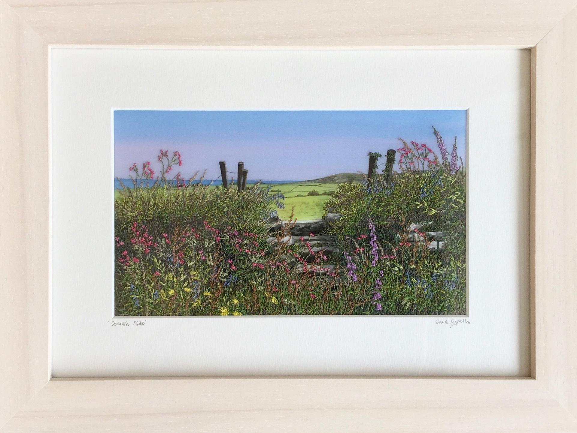 Carol Bynoth framed art