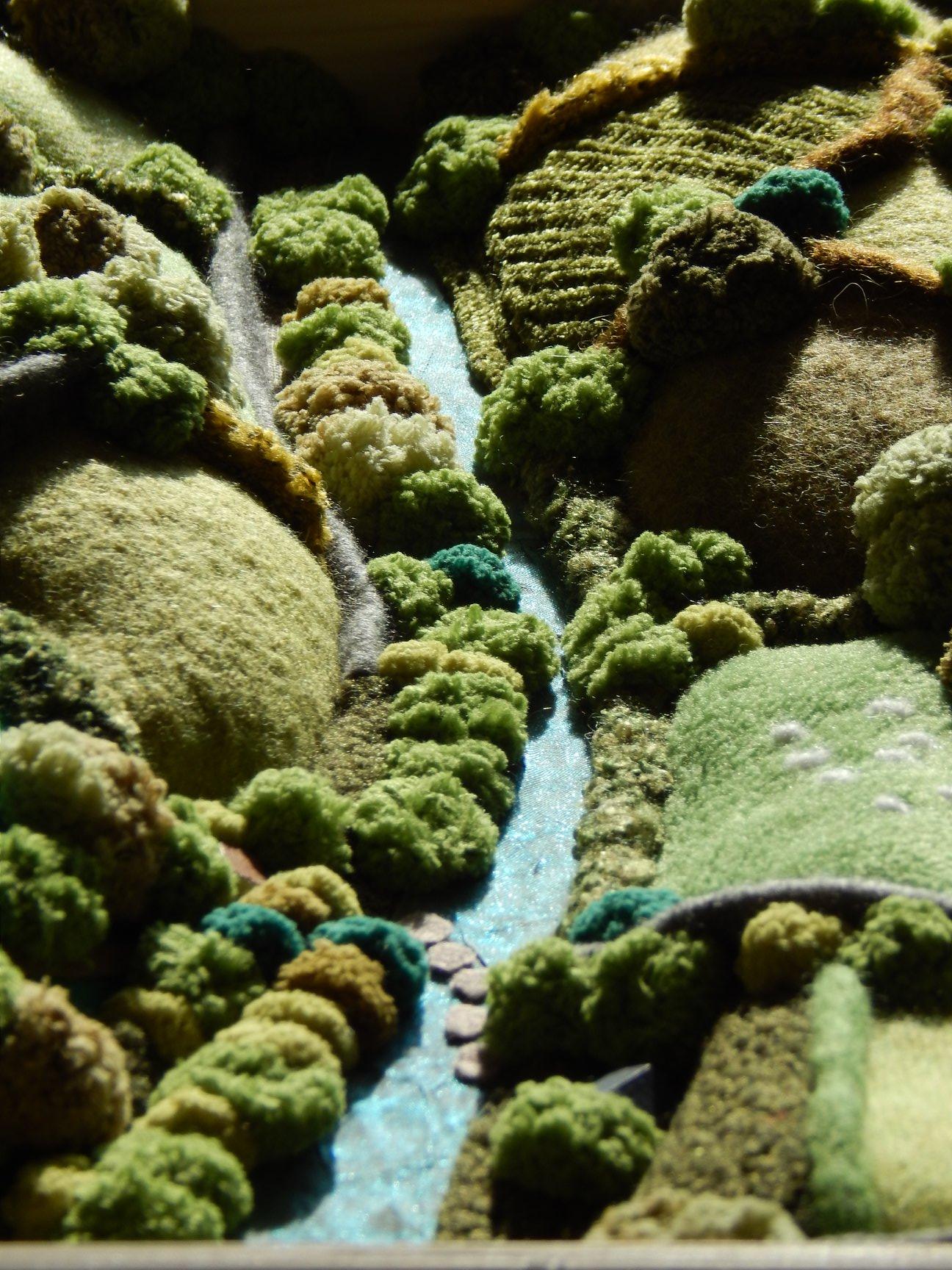 Chris Cullen Felt Artis Landscape