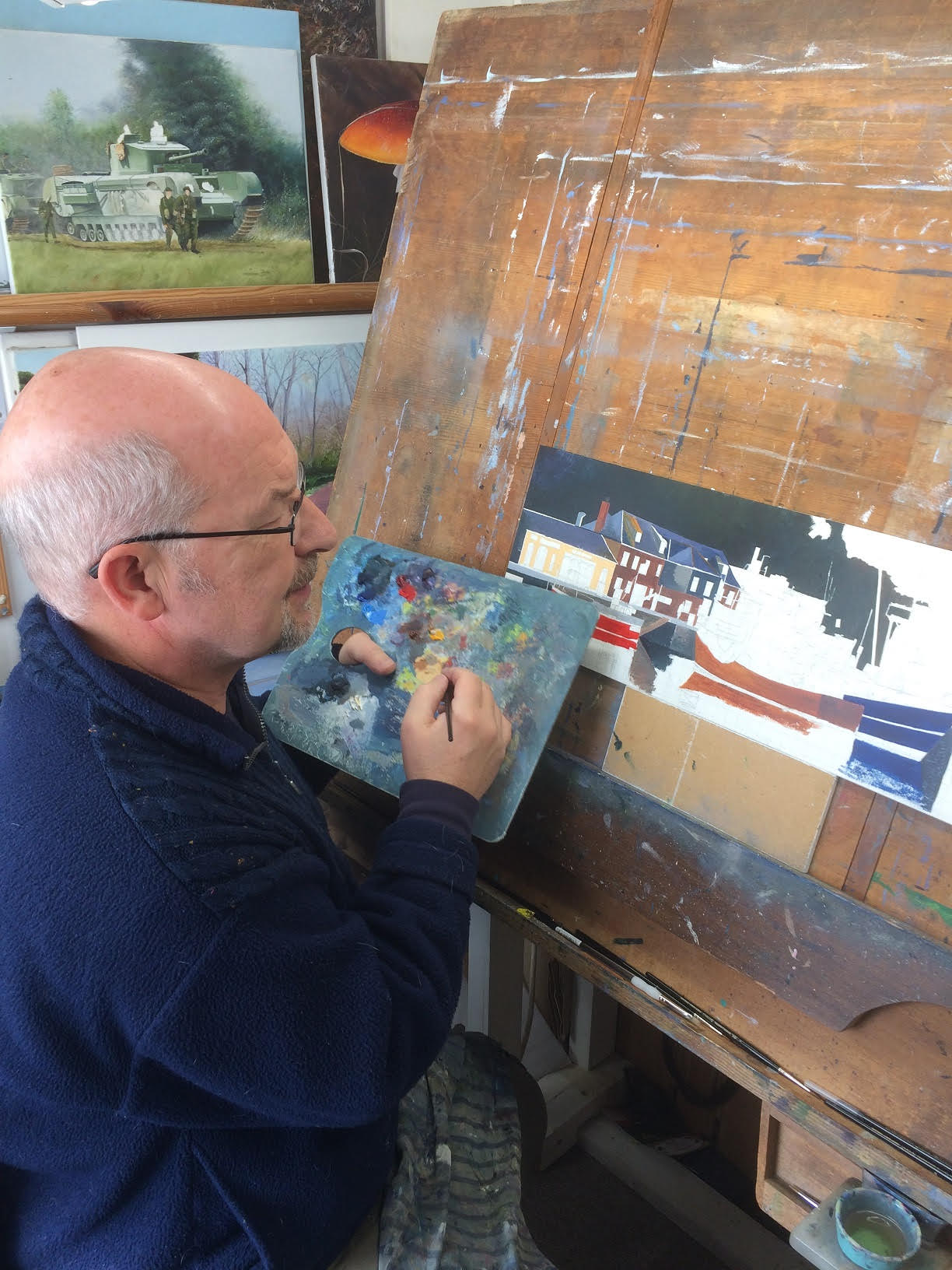 Gwen Vaughan painting 2
