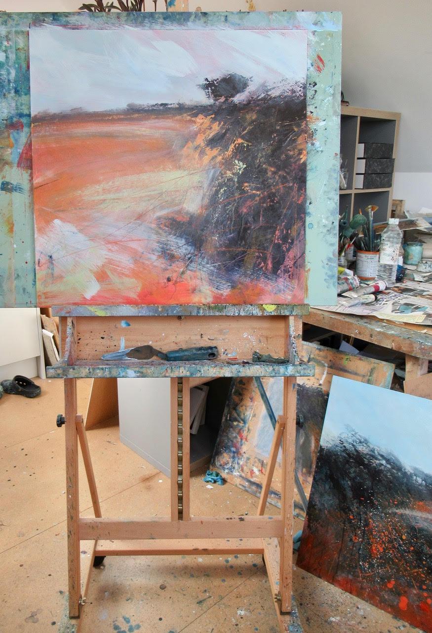 Sarah Bevan painting