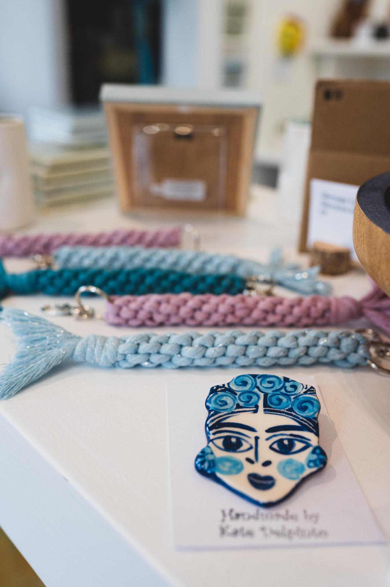 Blue Bramble Gallery St Ives key rings