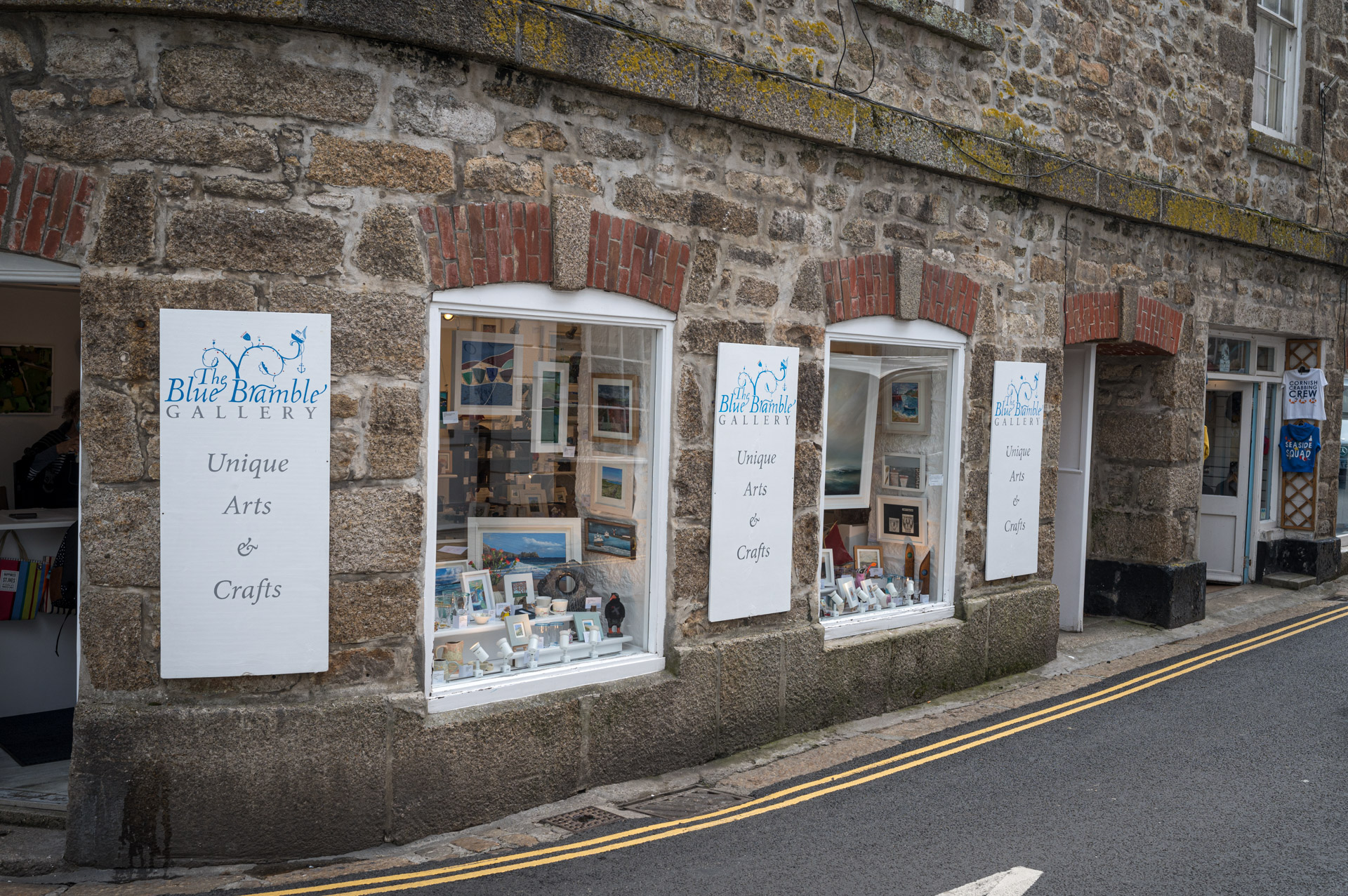 The Blue Bramble Gallery Market Place St Ives